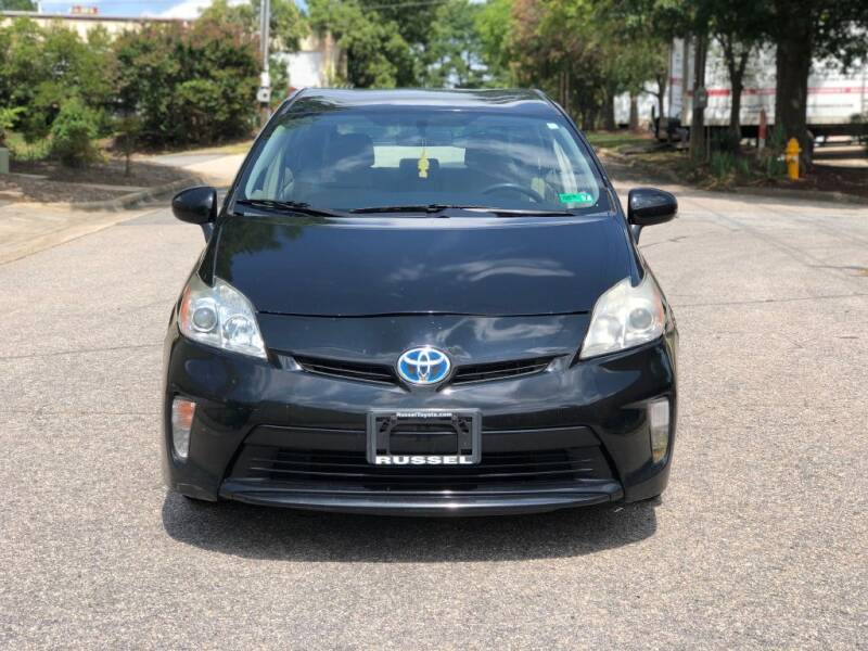 2013 Toyota Prius for sale at Horizon Auto Sales in Raleigh NC