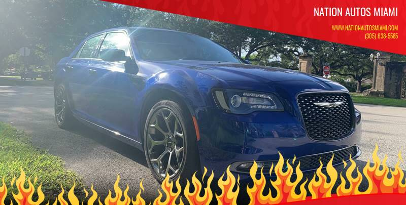 2018 Chrysler 300 for sale at Nation Autos Miami in Hialeah FL