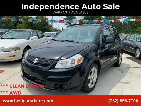 2007 Suzuki SX4 Crossover for sale at Independence Auto Sale in Bordentown NJ