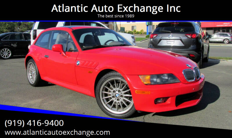 1999 BMW Z3 for sale at Atlantic Auto Exchange Inc in Durham NC