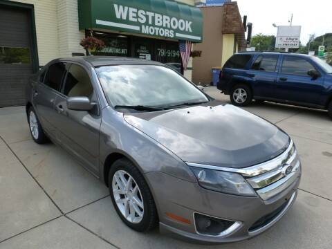 2011 Ford Fusion for sale at Westbrook Motors in Grand Rapids MI
