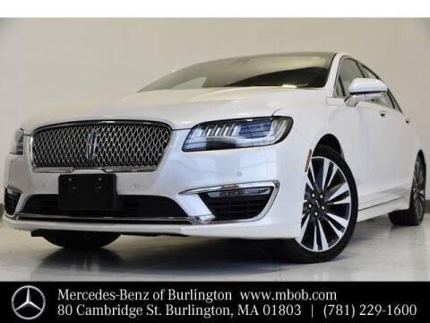 2017 Lincoln MKZ for sale at Mercedes Benz of Burlington in Burlington MA