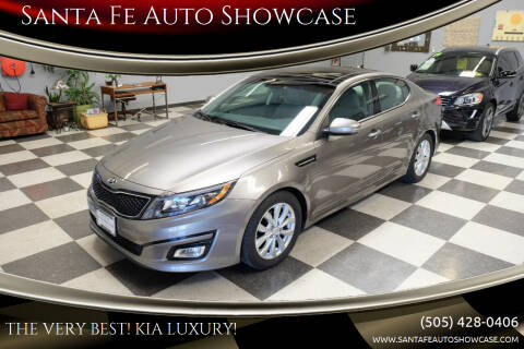 2015 Kia Optima for sale at Santa Fe Auto Showcase in Santa Fe NM
