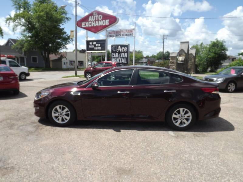2018 Kia Optima for sale at The Auto Exchange in Stevens Point WI