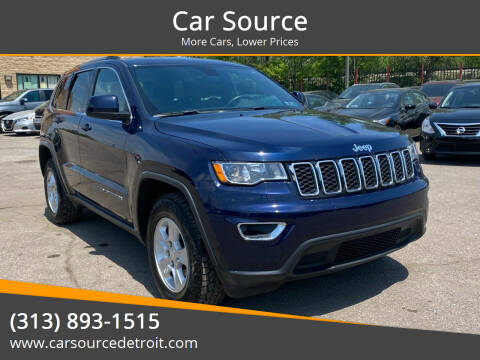 2017 Jeep Grand Cherokee for sale at Car Source in Detroit MI