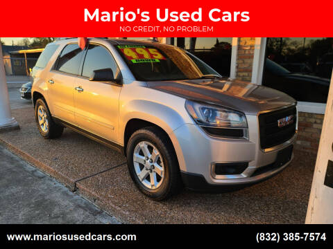 2015 GMC Acadia for sale at Mario's Used Cars - South Houston Location in South Houston TX