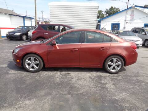 2013 Chevrolet Cruze for sale at Cars Unlimited Inc in Lebanon TN