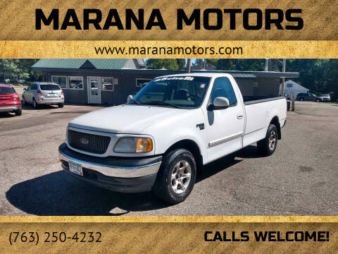 2001 Ford F-150 for sale at Marana Motors in Princeton MN