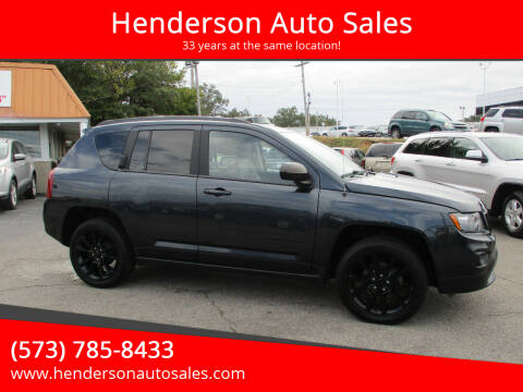 2014 Jeep Compass for sale at Henderson Auto Sales in Poplar Bluff MO