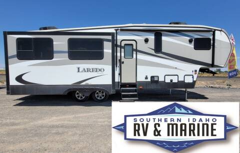 2016 KEYSTONE LARADO 297SRE for sale at SOUTHERN IDAHO RV AND MARINE - 5th Wheels in Jerome ID