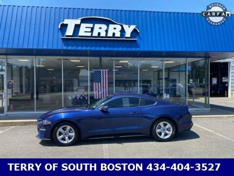 2018 Ford Mustang for sale at Terry of South Boston in South Boston VA