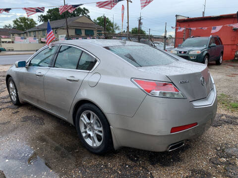 2011 Acura TL for sale at CHEAPIE AUTO SALES INC in Metairie LA