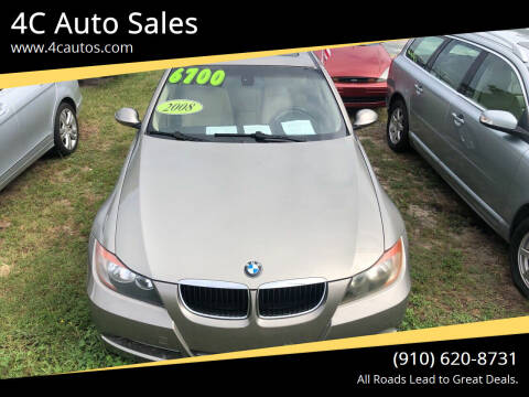 2008 BMW 3 Series for sale at 4C Auto Sales in Wilmington NC