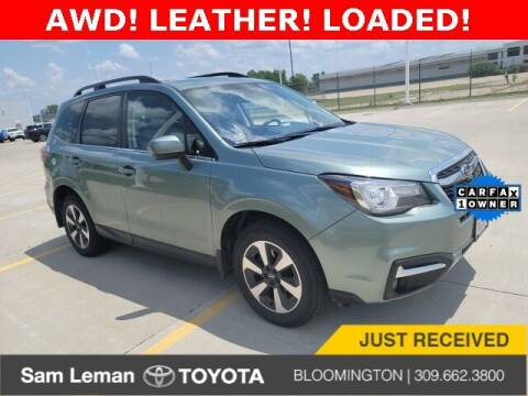 2018 Subaru Forester for sale at Sam Leman Toyota Bloomington in Bloomington IL
