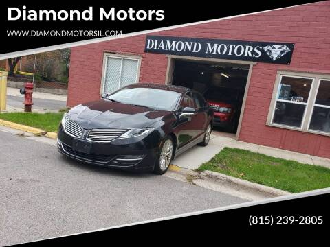 2013 Lincoln MKZ for sale at Diamond Motors in Pecatonica IL