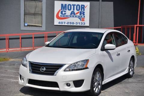 2013 Nissan Sentra for sale at Motor Car Concepts II - Kirkman Location in Orlando FL