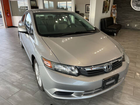 2012 Honda Civic for sale at Evolution Autos in Whiteland IN
