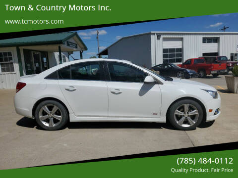 2013 Chevrolet Cruze for sale at Town & Country Motors Inc. in Meriden KS