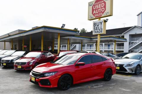 2017 Honda Civic for sale at Houston Used Auto Sales in Houston TX