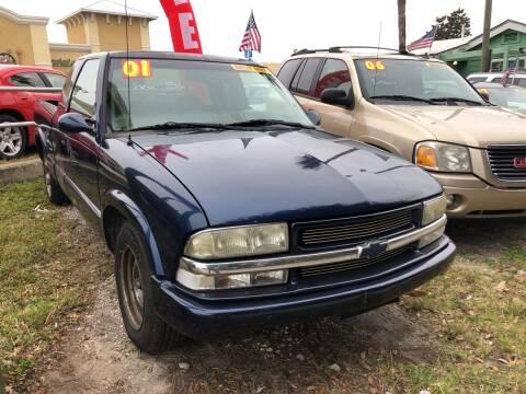 2001 Chevrolet S-10 for sale at Castagna Auto Sales LLC in Saint Augustine FL