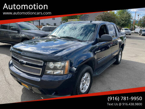 2008 Chevrolet Avalanche for sale at Automotion in Roseville CA