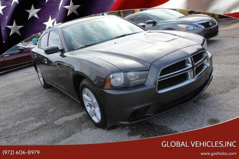 2013 Dodge Charger for sale at Global Vehicles,Inc in Irving TX