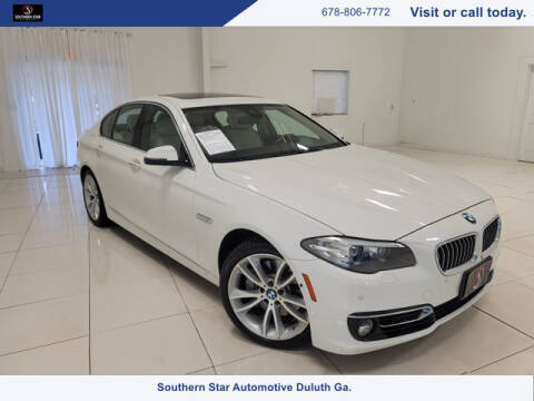 2016 BMW 5 Series for sale at Southern Star Automotive, Inc. in Duluth GA