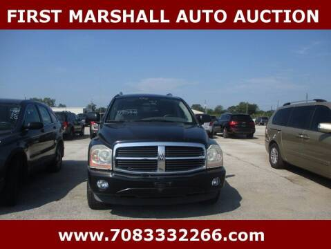 2006 Dodge Durango for sale at First Marshall Auto Auction in Harvey IL