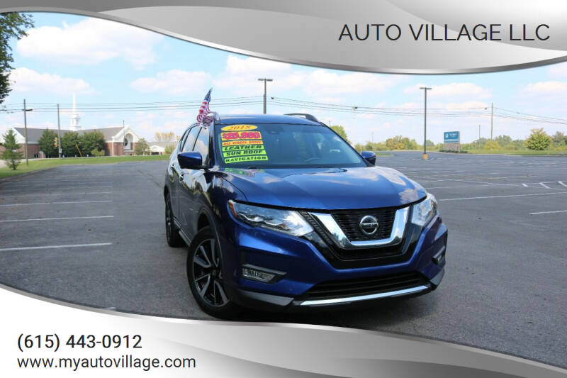 2018 Nissan Rogue for sale at AUTO VILLAGE LLC in Lebanon TN