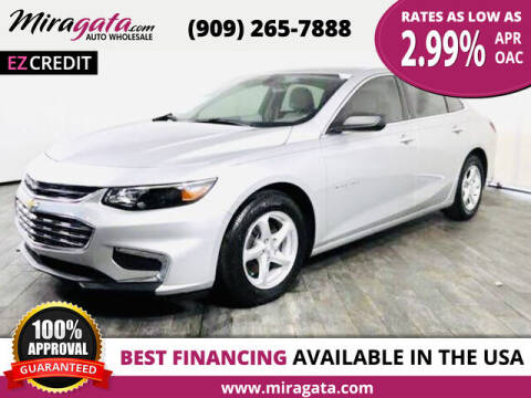 2017 Chevrolet Malibu for sale at Miragata Auto in Bloomington CA