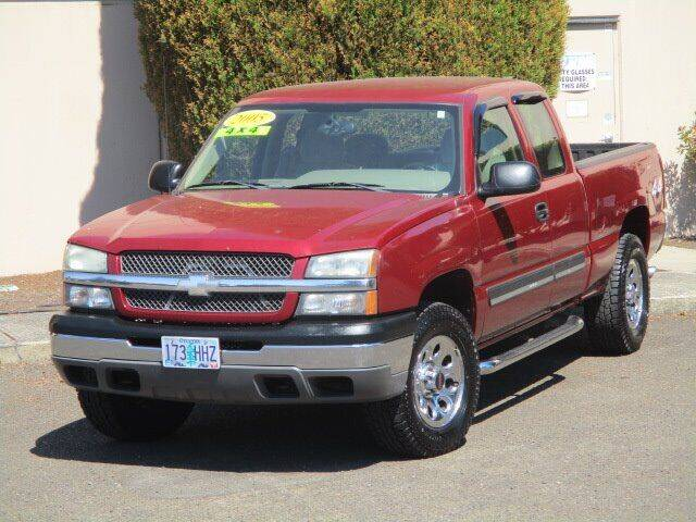 2005 Chevrolet Silverado 1500 for sale at Select Cars & Trucks Inc in Hubbard OR
