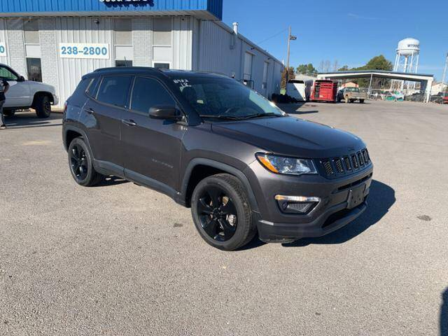 2018 Jeep Compass for sale at BULL MOTOR COMPANY in Wynne AR