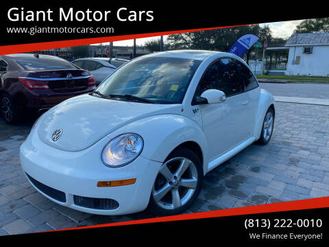 2008 Volkswagen New Beetle for sale at Giant Motor Cars in Tampa FL
