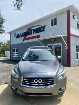 2015 Infiniti QX60 for sale at All About Price in Bunnell FL