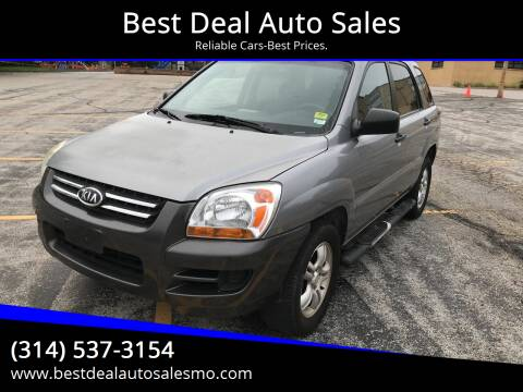 2006 Kia Sportage for sale at Best Deal Auto Sales in Saint Charles MO