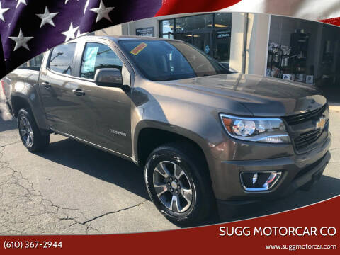 2016 Chevrolet Colorado for sale at Sugg Motorcar Co in Boyertown PA