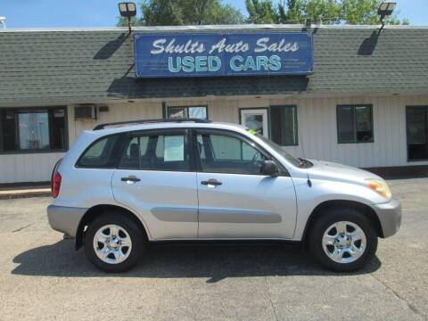 2004 Toyota RAV4 for sale at SHULTS AUTO SALES INC. in Crystal Lake IL