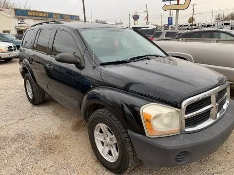 2006 Dodge Durango for sale at WF AUTOMALL in Wichita Falls TX