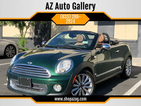 2012 MINI Cooper Roadster for sale at AZ Auto Gallery in Mesa AZ