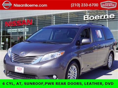 2017 Toyota Sienna for sale at Nissan of Boerne in Boerne TX