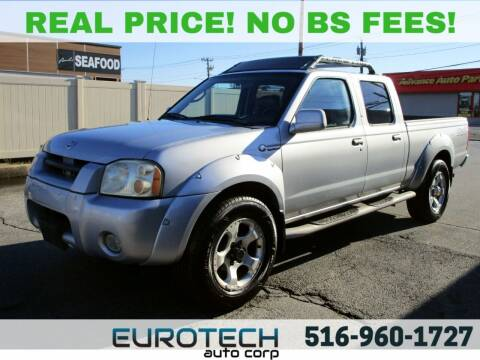 2002 Nissan Frontier for sale at EUROTECH AUTO CORP in Island Park NY
