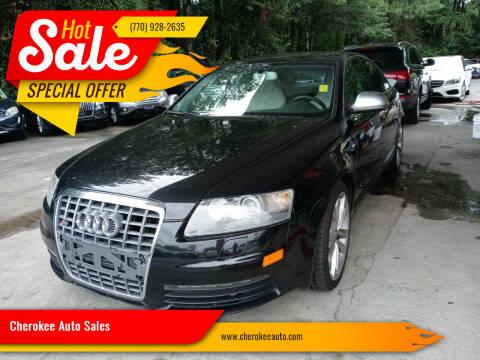 2011 Audi S6 for sale at Cherokee Auto Sales in Acworth GA