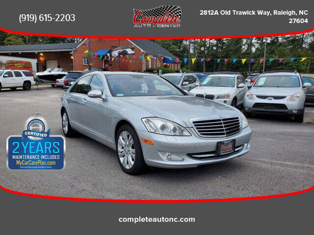 2009 Mercedes-Benz S-Class for sale at Complete Auto Center , Inc in Raleigh NC