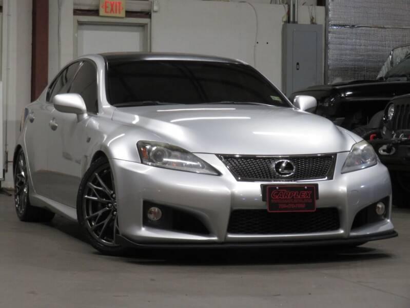 2011 Lexus IS F for sale at CarPlex in Manassas VA