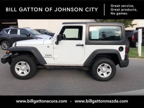2013 Jeep Wrangler for sale at Bill Gatton Used Cars - BILL GATTON ACURA MAZDA in Johnson City TN