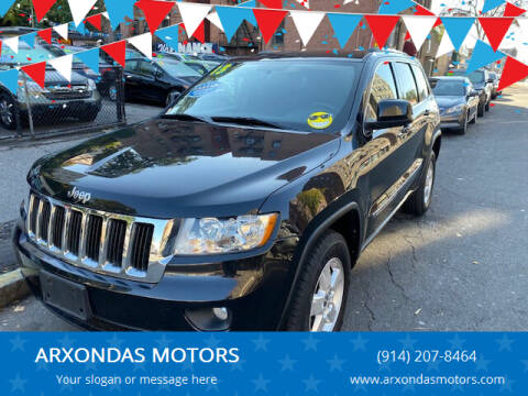 2013 Jeep Grand Cherokee for sale at ARXONDAS MOTORS in Yonkers NY