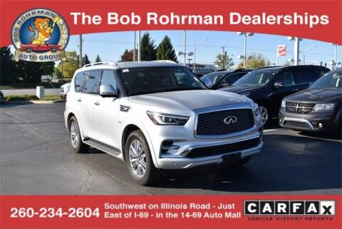 2019 Infiniti QX80 for sale at BOB ROHRMAN FORT WAYNE TOYOTA in Fort Wayne IN