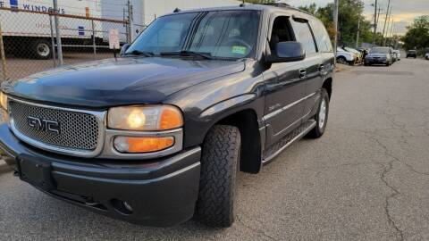 2003 GMC Yukon for sale at Giordano Auto Sales in Hasbrouck Heights NJ