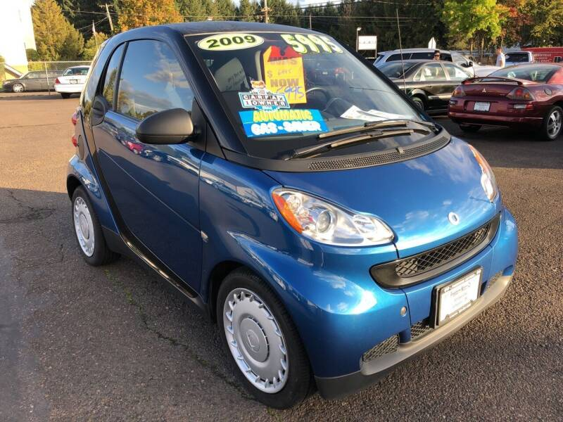 2009 Smart fortwo for sale at Freeborn Motors in Lafayette, OR