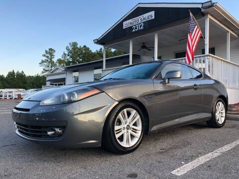 2007 Hyundai Tiburon for sale at CVC AUTO SALES in Durham NC